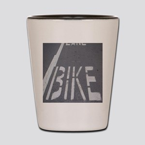 Bike Lane Shot Glass